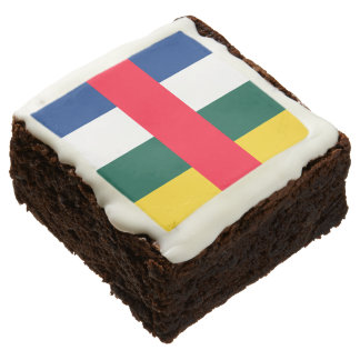 Central African Republic Square Brownie