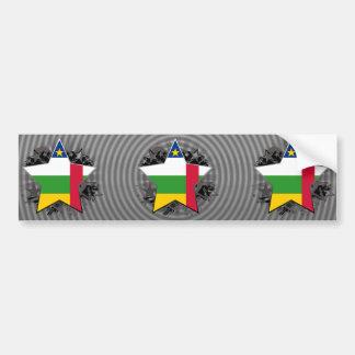 Central African Republic Star Bumper Sticker