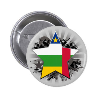 Central African Republic Star Buttons