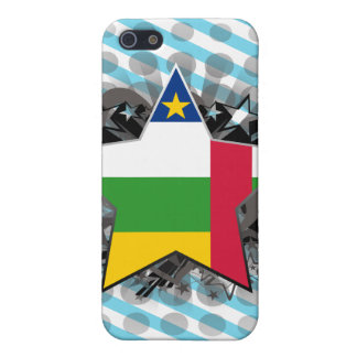 Central African Republic Star iPhone 5 Case
