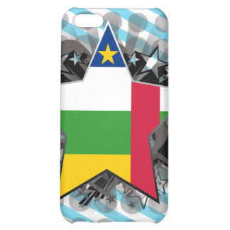 Central African Republic Star iPhone 5C Cases