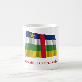 Central African Republic Waving Flag French Name Classic White Coffee Mug