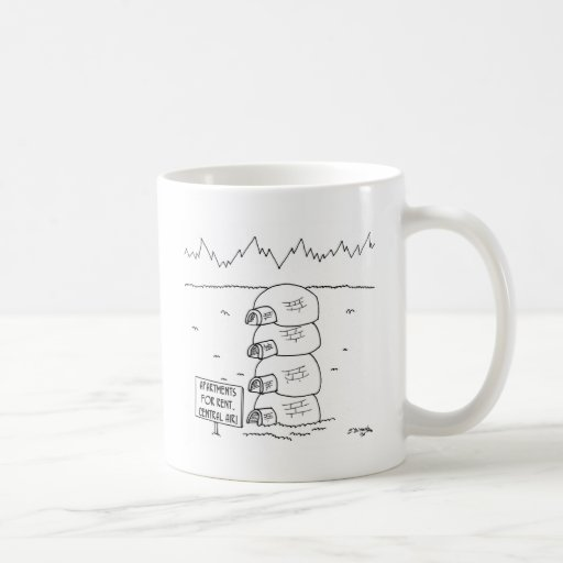 Central Air in Igloos Classic White Coffee Mug