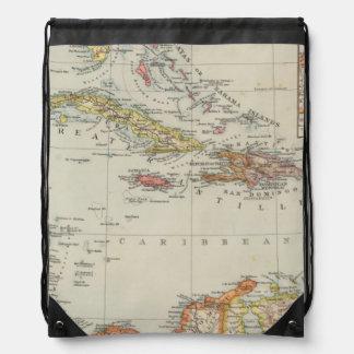 Central America 2 Drawstring Backpack