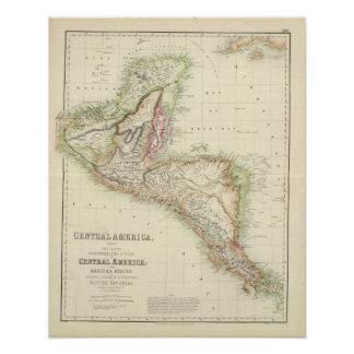 Central America 3 Poster
