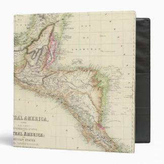 Central America 4 Vinyl Binders