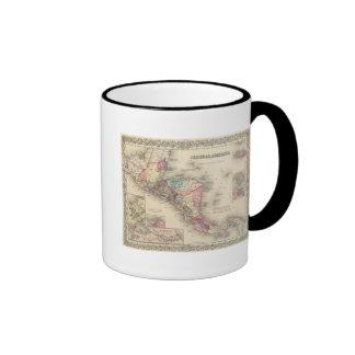 Central America 5 Coffee Mugs