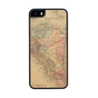 Central America 5 Carved® Maple iPhone 5 Case