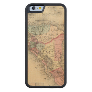 Central America 5 Carved® Maple iPhone 6 Bumper