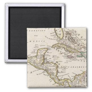 Central America 6 2 Inch Square Magnet