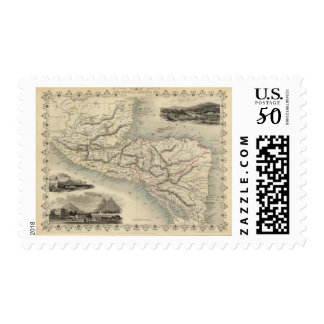 Central America 7 Postage