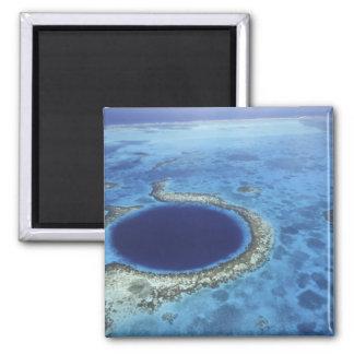 CENTRAL AMERICA, Belize, Large coral reefs off Fridge Magnet