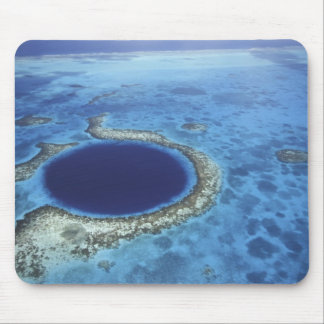 CENTRAL AMERICA, Belize, Large coral reefs off Mouse Pad