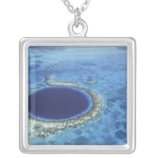 CENTRAL AMERICA, Belize, Large coral reefs off Necklaces