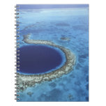 CENTRAL AMERICA, Belize, Large coral reefs off Spiral Note Books
