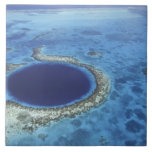 CENTRAL AMERICA, Belize, Large coral reefs off Ceramic Tile