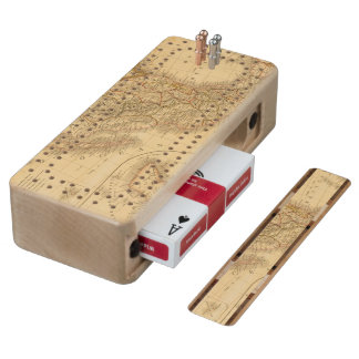 Central America Cribbage Board