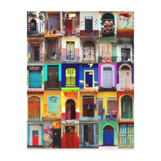 Central America doors Canvas Print