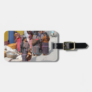 Central America Market - Guatemala Market Luggage Tag
