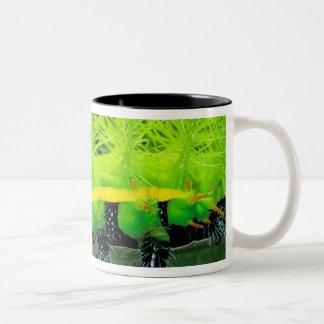 Central America, Panama, Barro Colorado Island. 2 Mugs