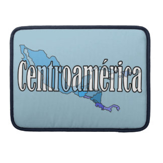 Central America Sleeve For MacBook Pro