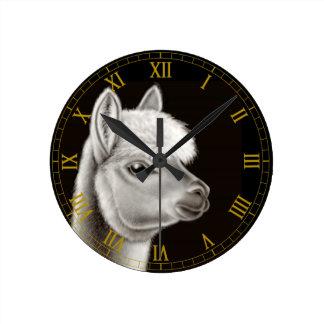 Central American Alpaca Wall Clock