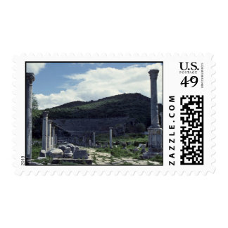 Central American Ruins Postage