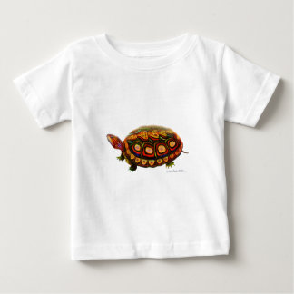Central American Wood Turtle Baby T-Shirt