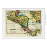 Central AmericaPanoramic MapCentral America Card