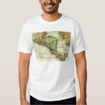 Central AmericaPanoramic MapCentral America T-shirt