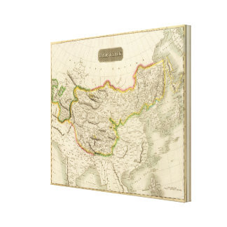 Central and East Asia Canvas Print