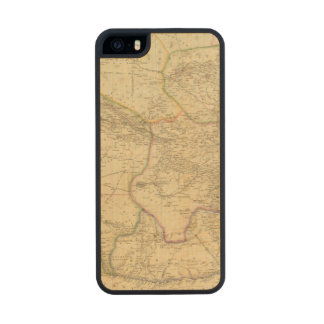 Central Asia 2 Carved® Maple iPhone 5 Slim Case