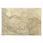 Central Asia 2 Cloth Place Mat