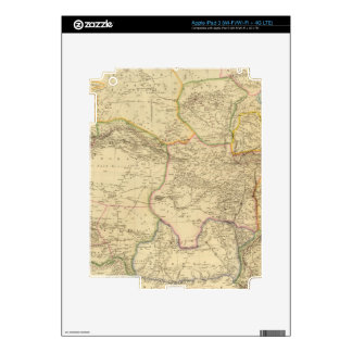 Central Asia 2 Decal For iPad 3