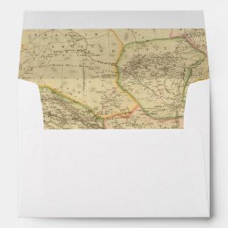 Central Asia 2 Envelopes