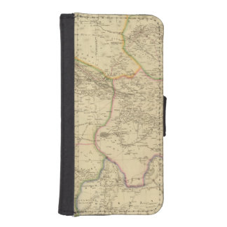 Central Asia 2 iPhone 5 Wallet Cases