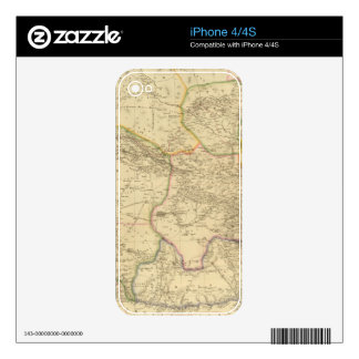 Central Asia 2 Decal For The iPhone 4