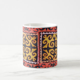Central Asian Art Classic White Mug
