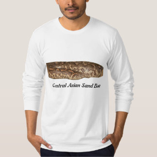 Central Asian Sand Boa American Apparel Long T-Shirt