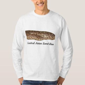 Central Asian Sand Boa Basic Long Sleeve T-Shirt