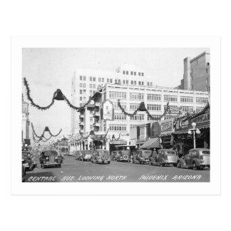 Central Ave., Phoenix, Arizona Vintage Postcard