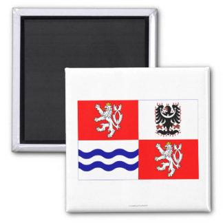 Central Bohemia Flag Magnet