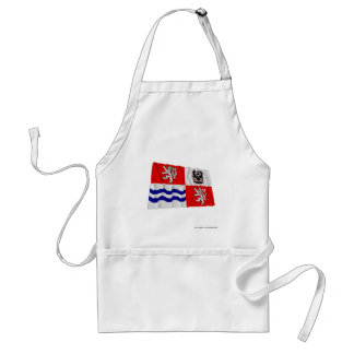 Central Bohemia Waving Flag Aprons