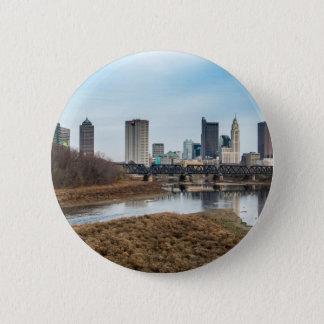 Central Business District Columbus, Ohio Pinback Button