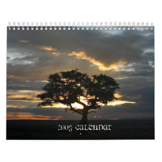 Central, calendario animal africano del este - mod