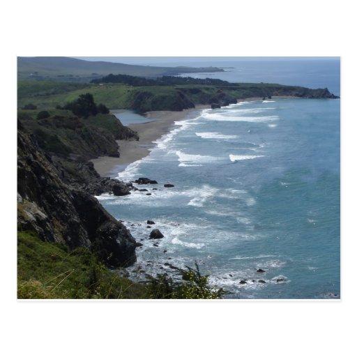 Central California Coast Postcard