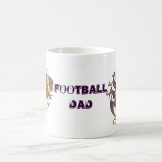 Central Chargers Football Dad Coffee Mug