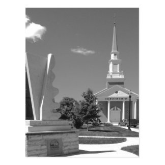Central Church of Christ Postcard