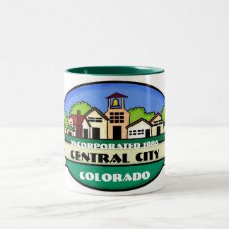 Central City Colorado small town souvenir mug