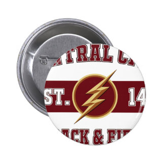 Central City Track and Field Pinback Button
